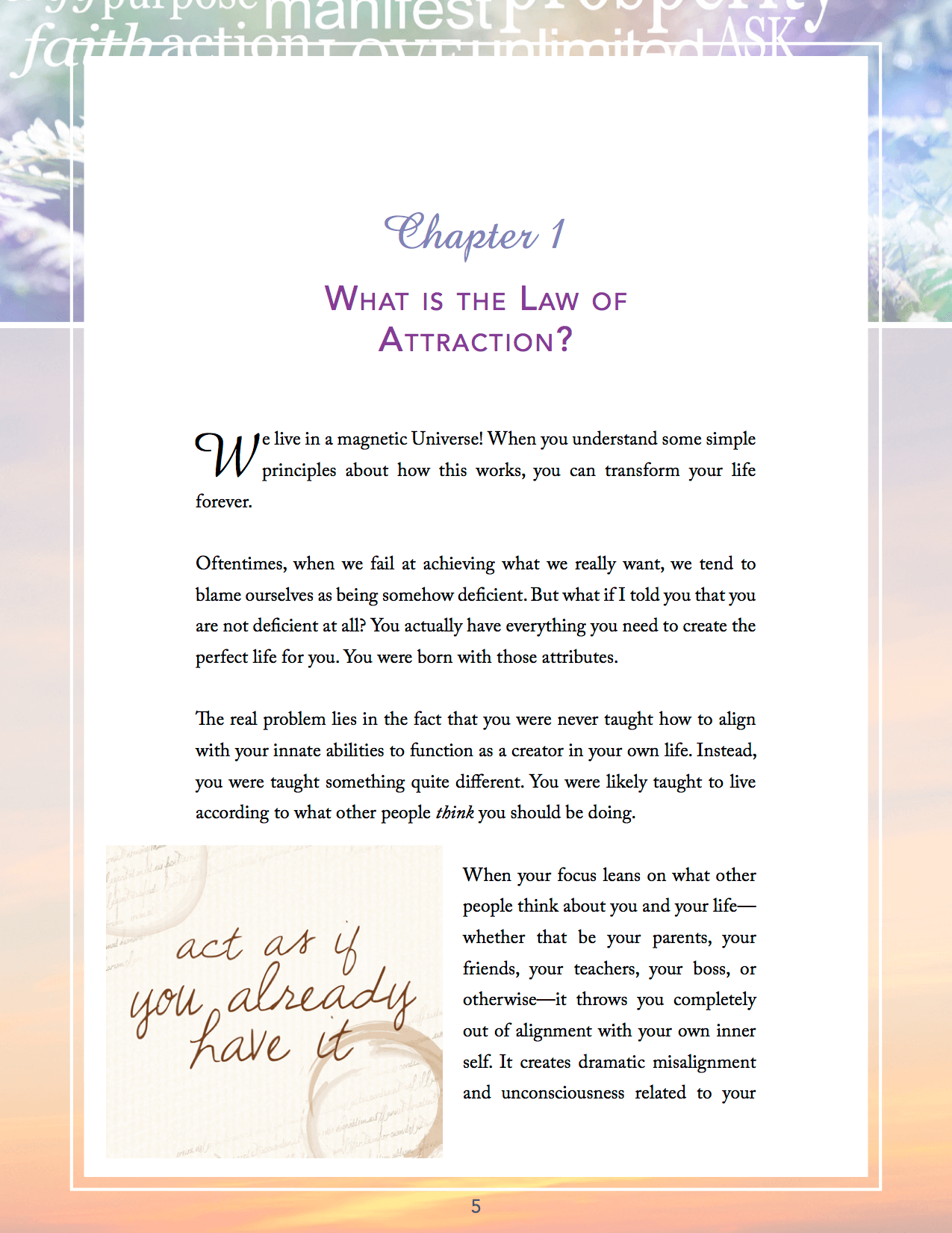 Natural and lasting attraction ebook