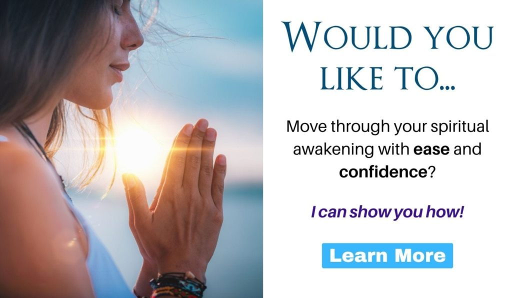 Would you like to move through your spiritual awakening with ease and confidence? I can show you how! Click here to learn more