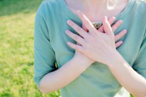Heartfelt self-esteem, loving yourself, forgiveness