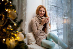 Take a break and relax during the holidays! Give yourself space for harmony and enjoyment at this magical time of year.