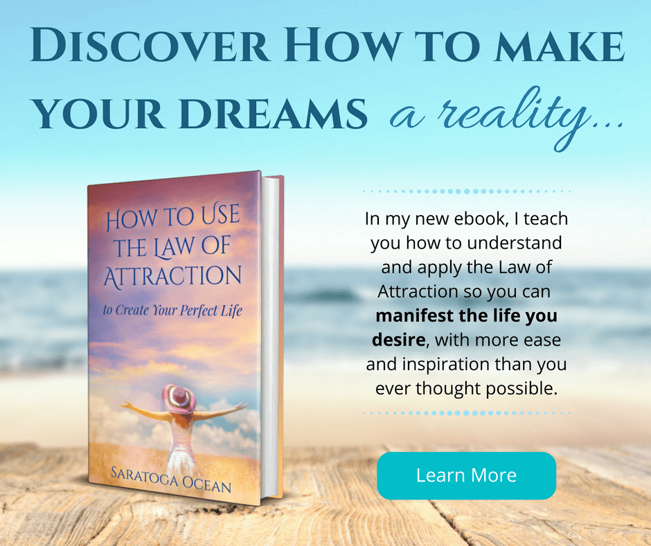 In my new ebook, I teach you how to understand and apply the Law of Attraction so you can manifest the life you desire, with more ease and inspiration than you ever thought possible. Click here to learn more.