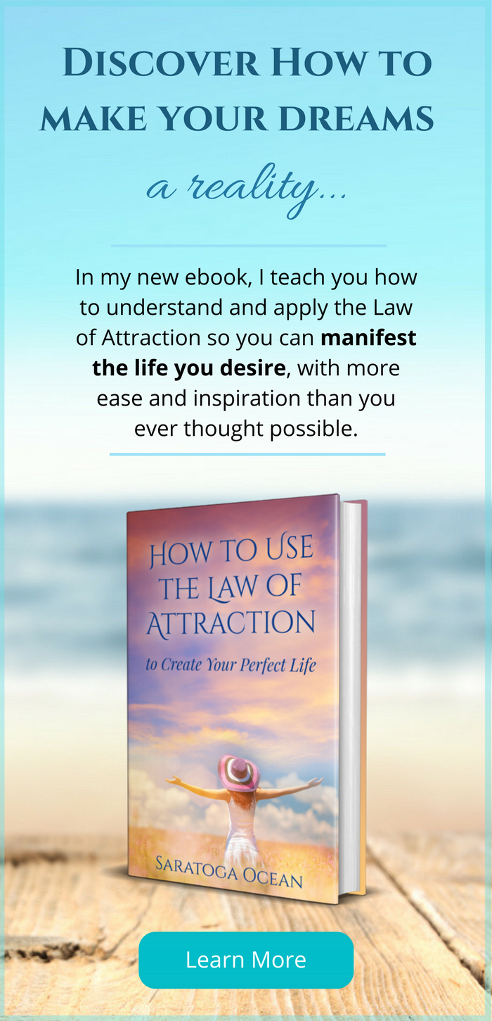 "Discover how to make your dreams a reality with Saratoga's ebook ""How to Use the Law of Attraction to Create Your Perfect Life"""